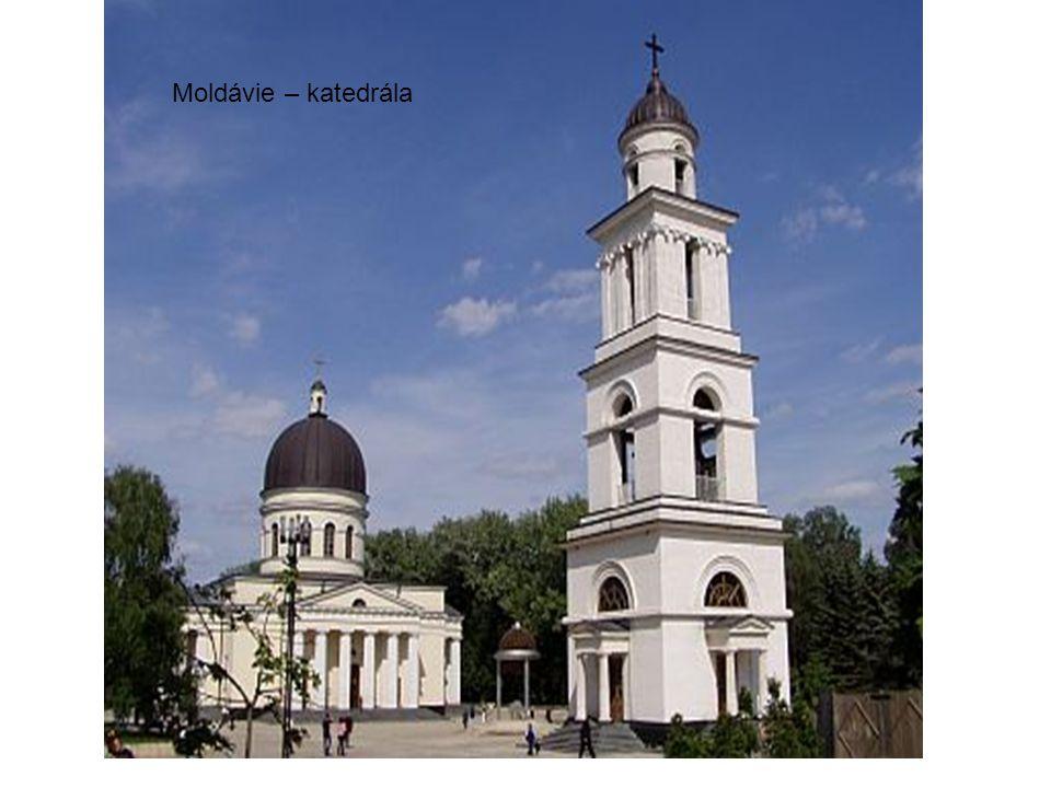 Moldávie – katedrála