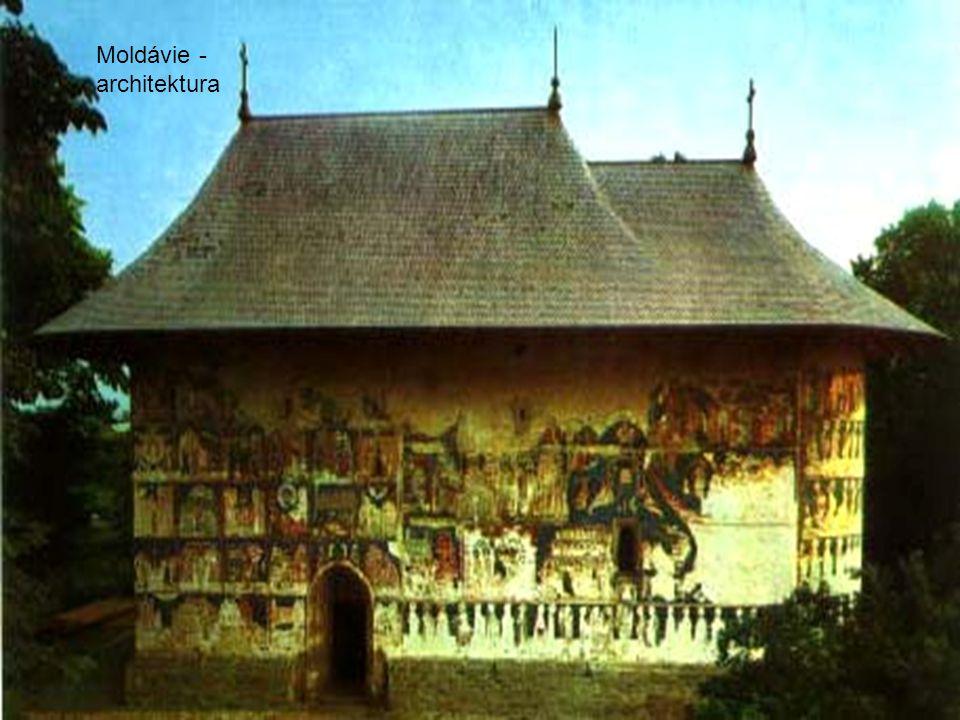 Moldávie - architektura