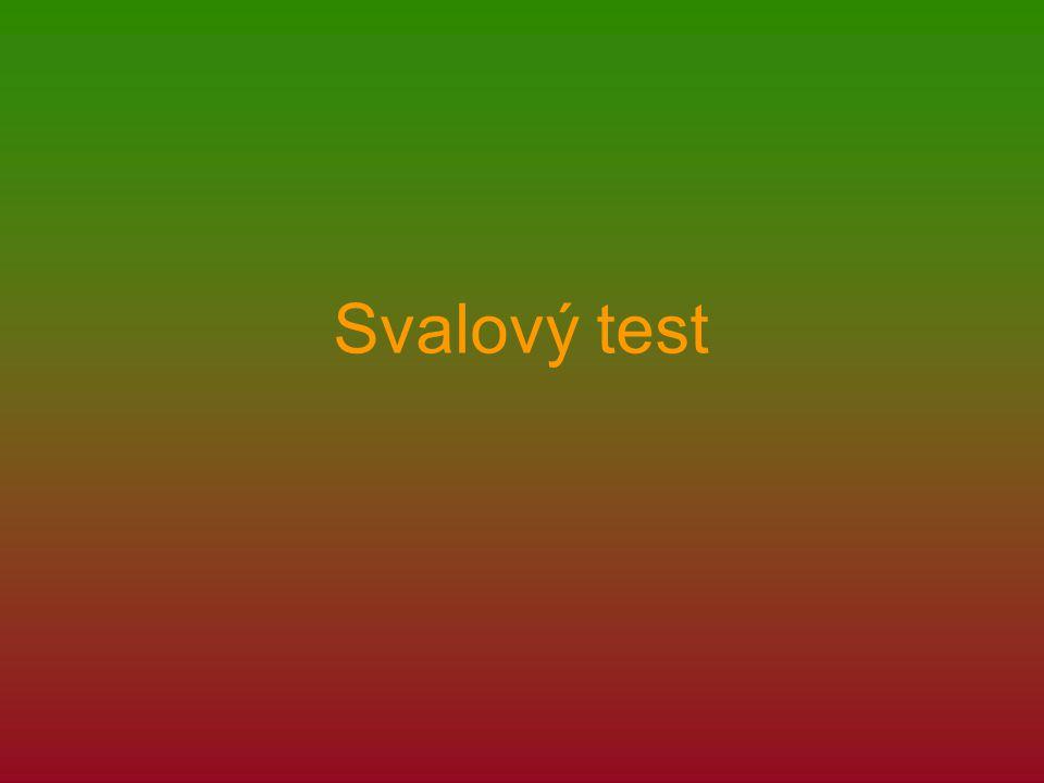 Svalový test