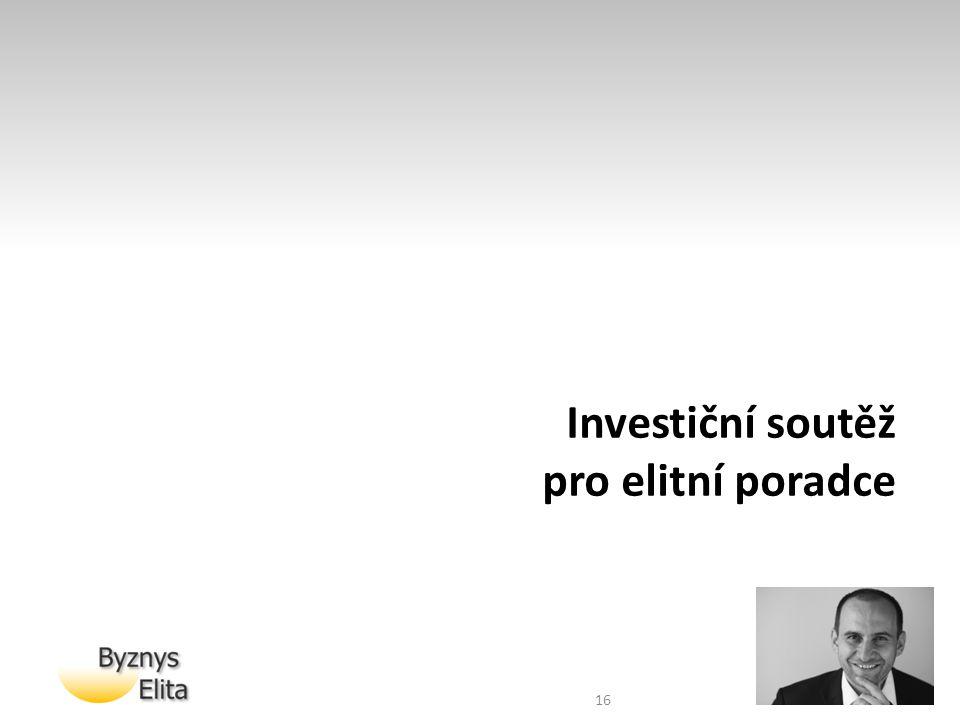 Investiční soutěž pro elitní poradce 16