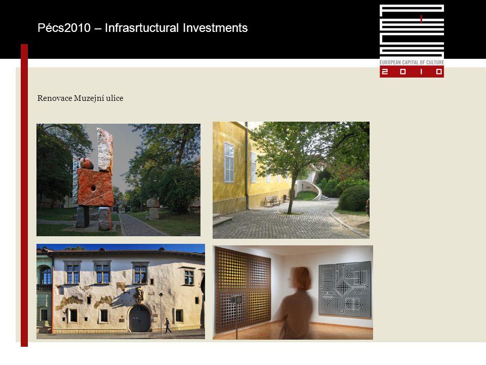 Renovace Muzejní ulice Pécs2010 – Infrasrtuctural Investments