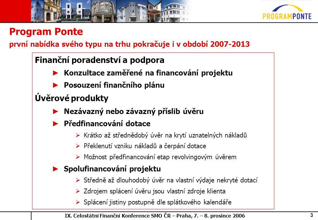 IX.Celostátní Finanční Konference SMO ČR – Praha, 7.