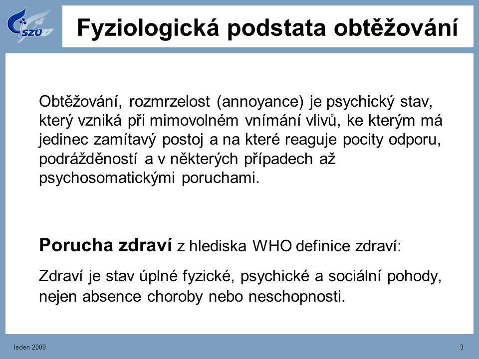 leden 20093 Obtěžování, rozmrzelost (annoyance) je psychický stav, který vzniká při mimovolném vnímání vlivů, ke kterým má jedinec zamítavý postoj a n