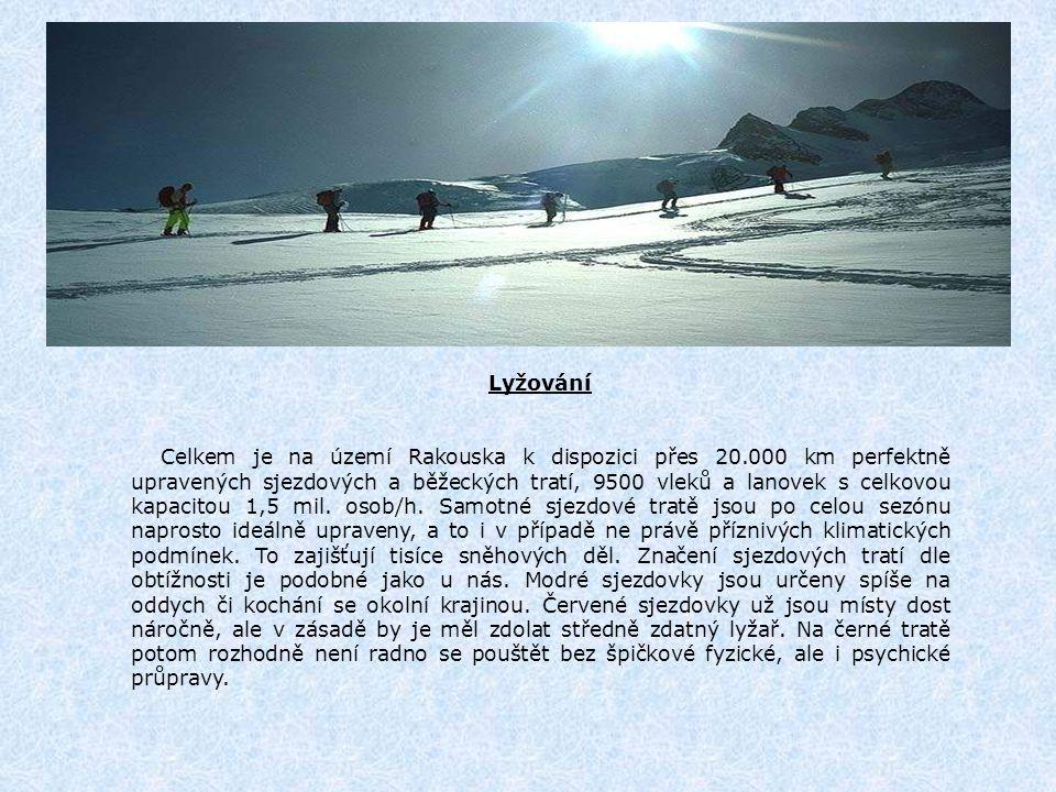 Zillertal – mapa sjezdovek: