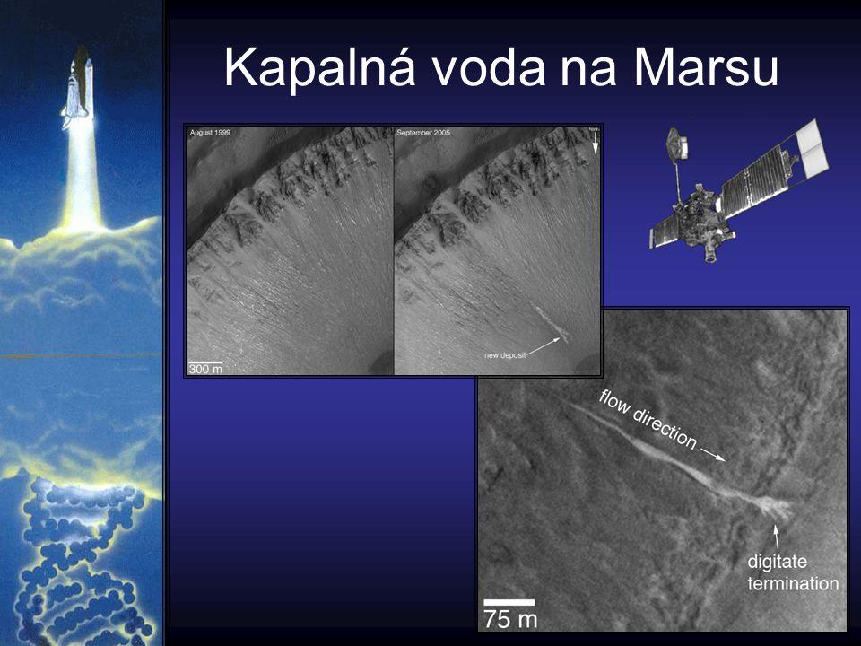 Kapalná voda na Marsu