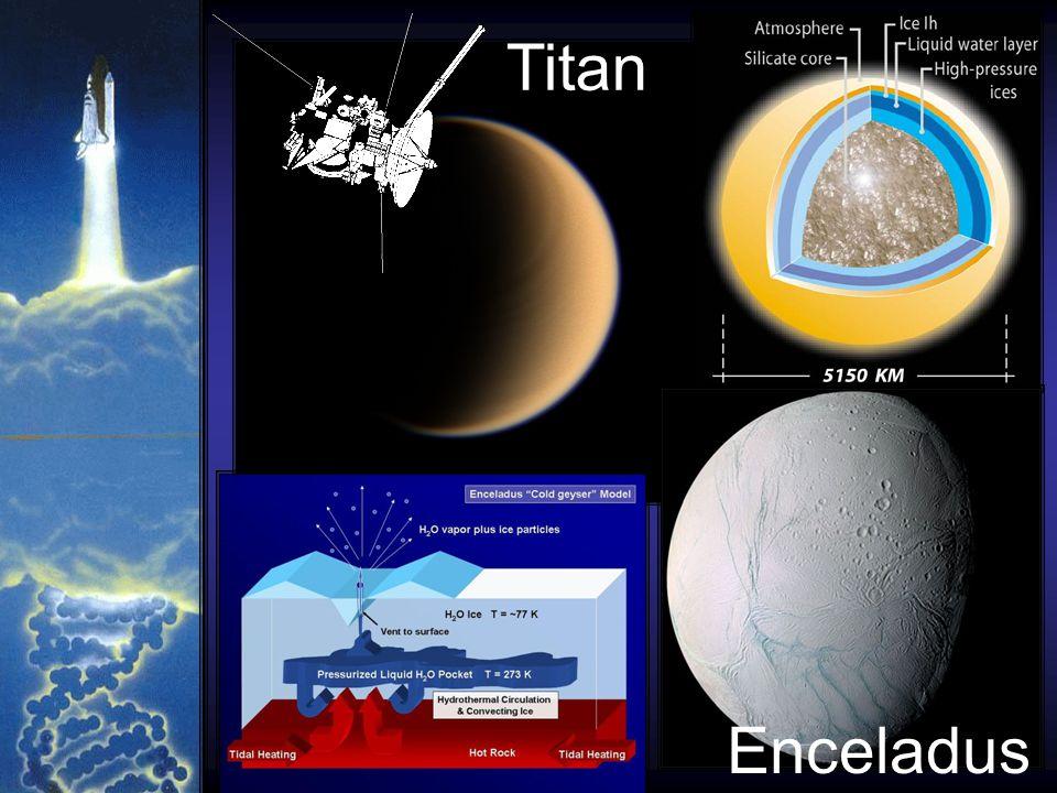 Titan Enceladus