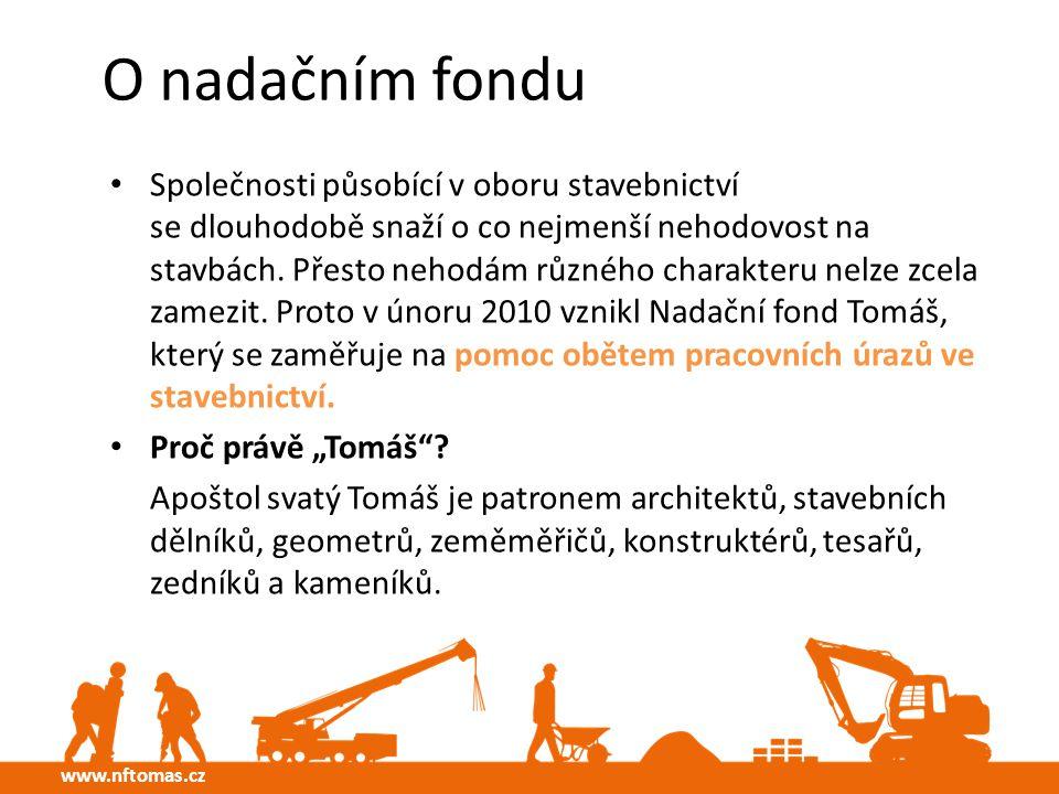 O nadačním fondu Společnosti působící v oboru stavebnictví se dlouhodobě snaží o co nejmenší nehodovost na stavbách.