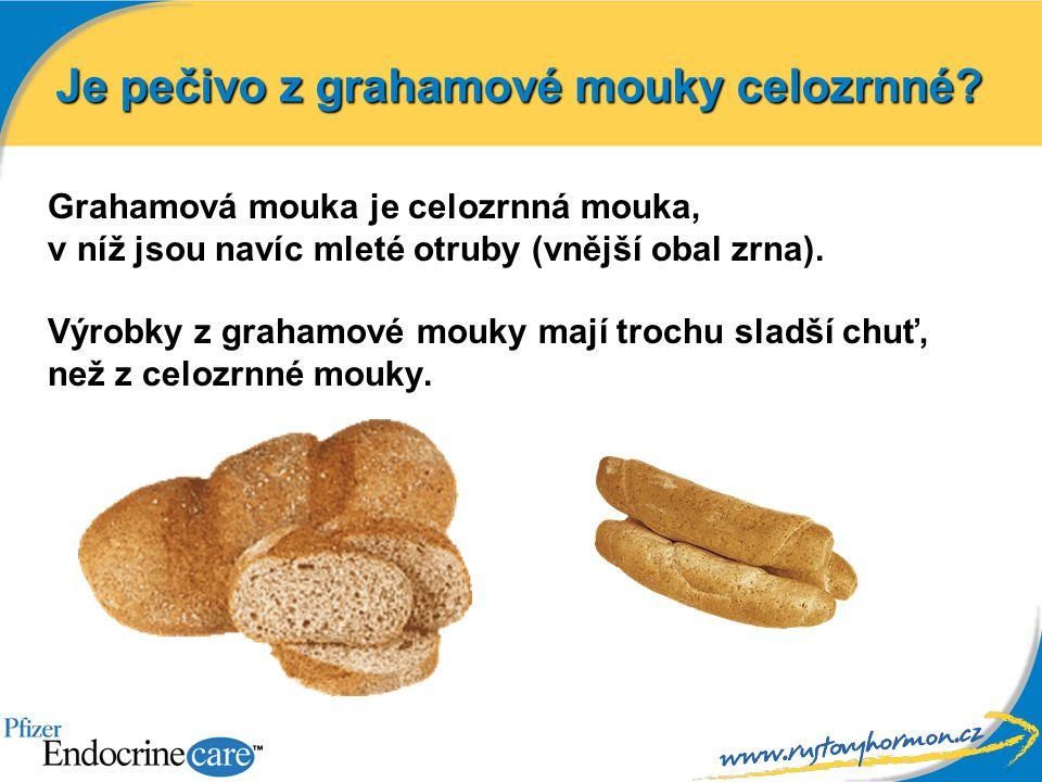 Grahamová mouka je celozrnná mouka, v níž jsou navíc mleté otruby (vnější obal zrna). Výrobky z grahamové mouky mají trochu sladší chuť, než z celozrn