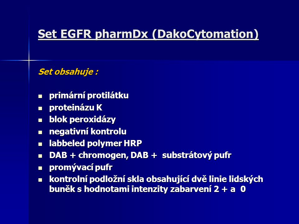 Set EGFR pharmDx