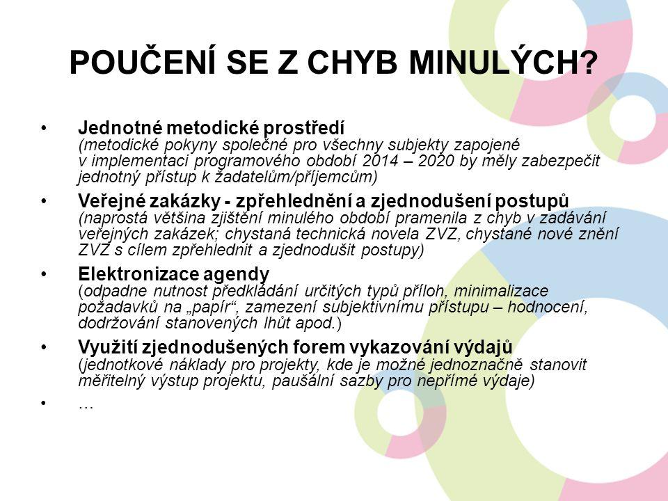 STRUKTURA PD IROP Nástupce Integrovaného operačního programu a 7 Regionálních operačních programů, pro celé území ČR s výjimkou hl.