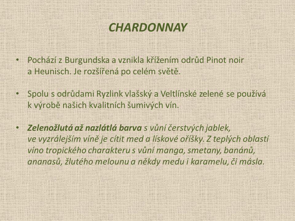 Pochází z Burgundska a vznikla křížením odrůd Pinot noir a Heunisch.