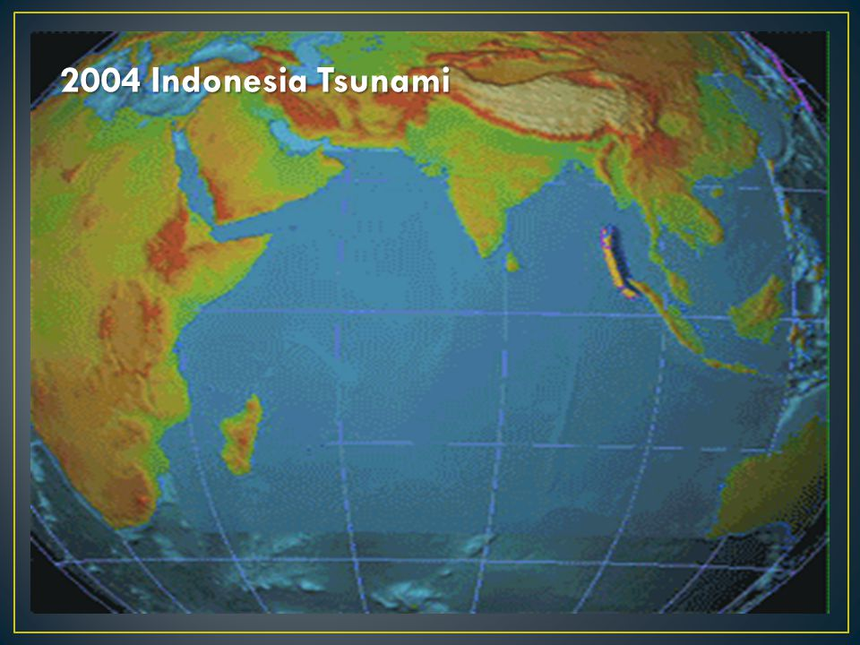 2004 Indonesia Tsunami