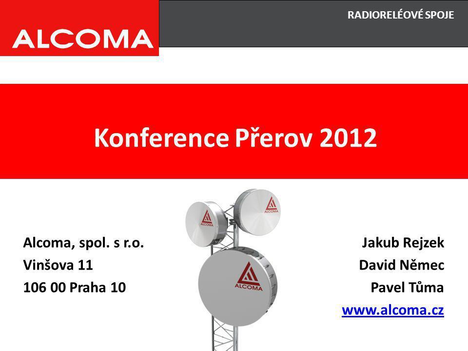 Konference Přerov 2012 Alcoma, spol. s r.o.