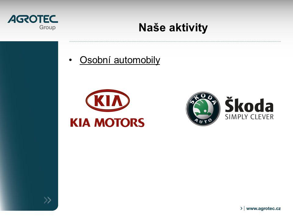 Naše aktivity Osobní automobily
