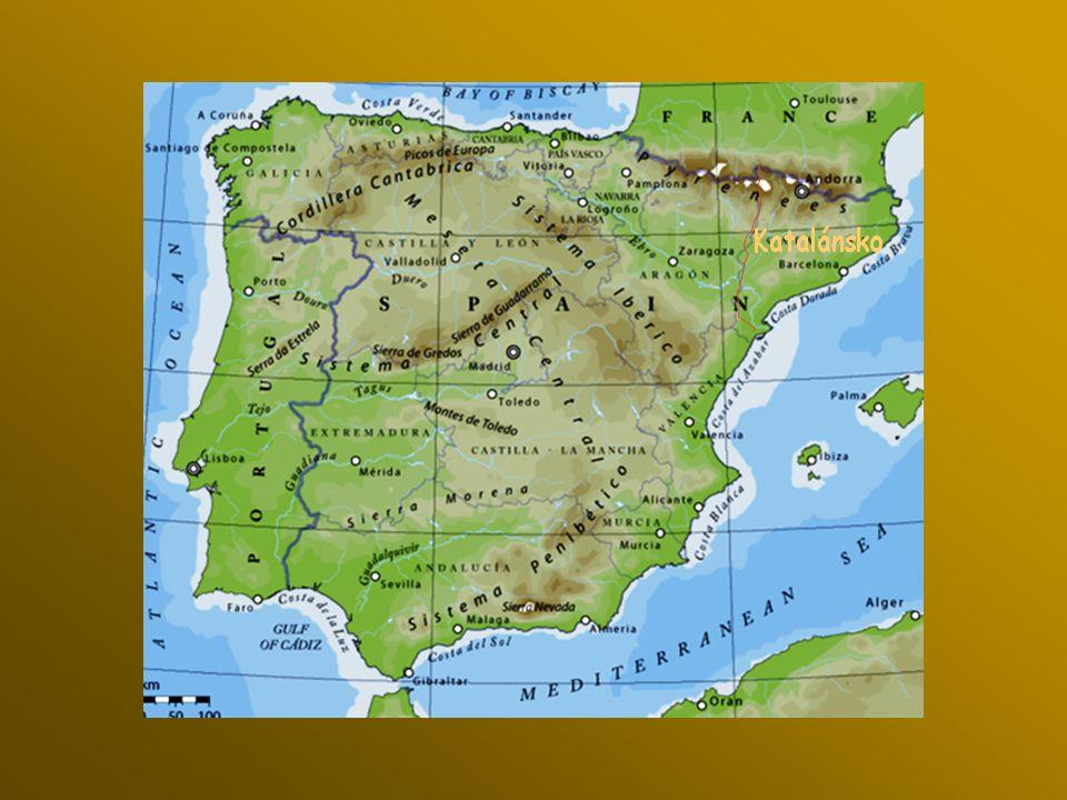 Mys Cabo de Creus, kde Pyreneje se dotýkají moře