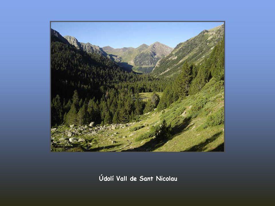 Údolí Vall de Sant Nicolau
