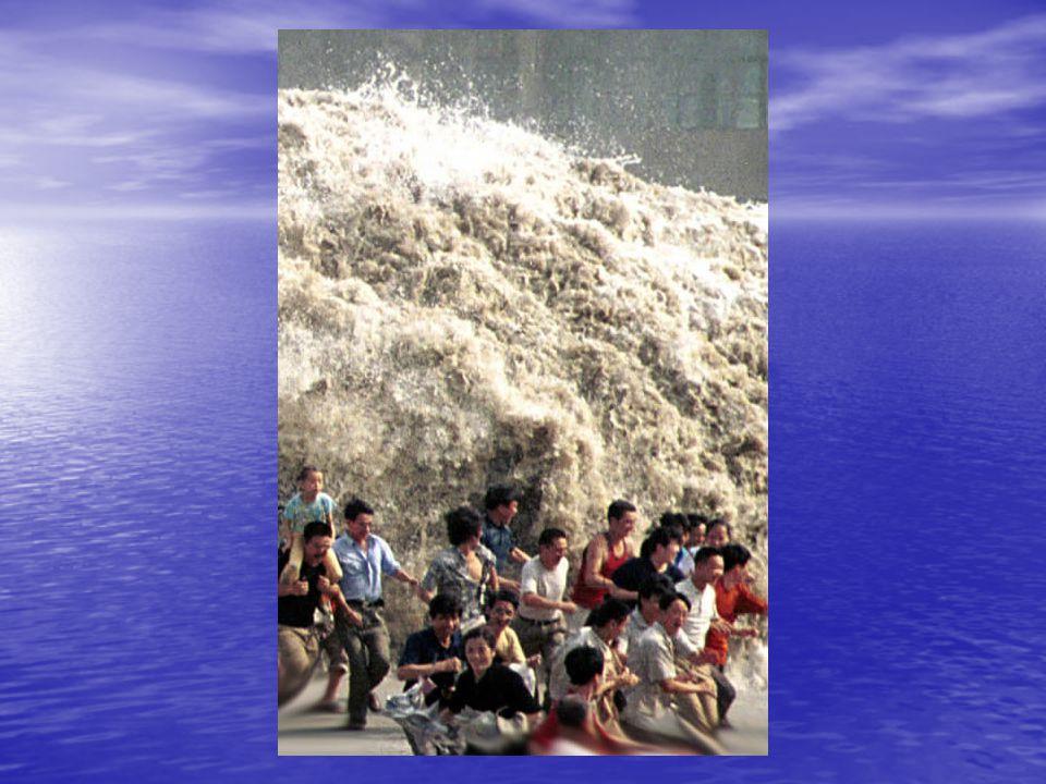 Vznik tsunami 1.Tsunami vzniká nejčastěji podmořským zemětřesením.
