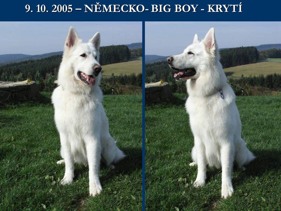 9. 10. 2005 – NĚMECKO- BIG BOY - KRYTÍ