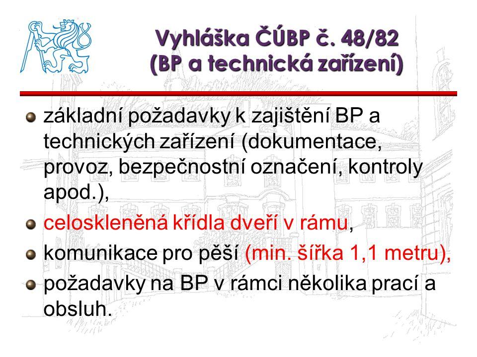 Vyhl.ČÚBP a ČBÚ č.