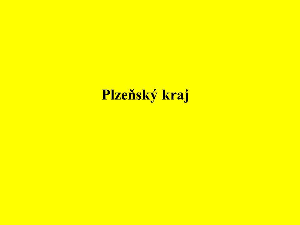 Plzeňský kraj leží na jihozápadě Čech.