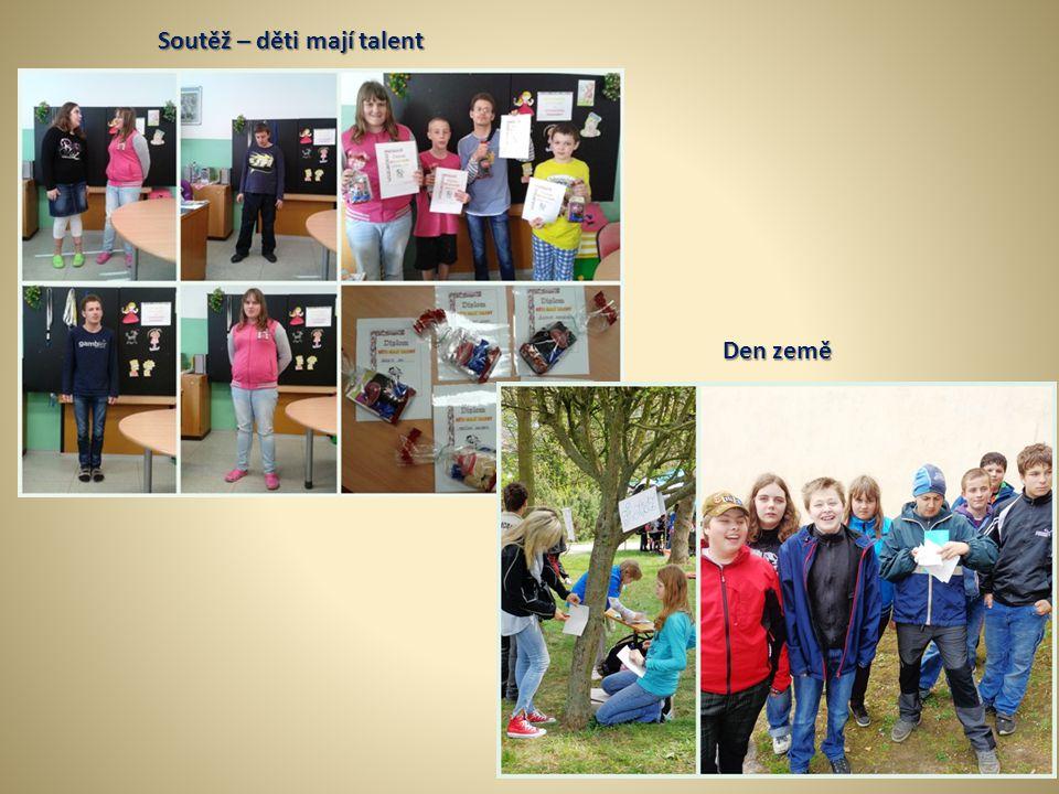 Soutěž – děti mají talent Den země