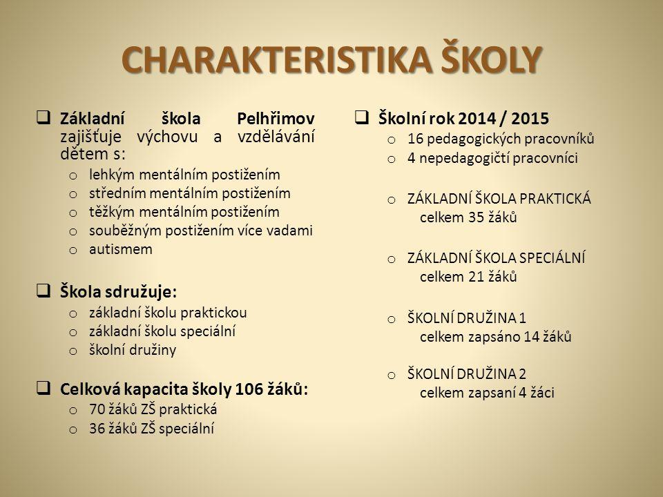 """Žák Miroslav Šlechta: """"Dne 24.2. 2014 k nám do školy přišel předseda senátu pan Milan Štěch."""