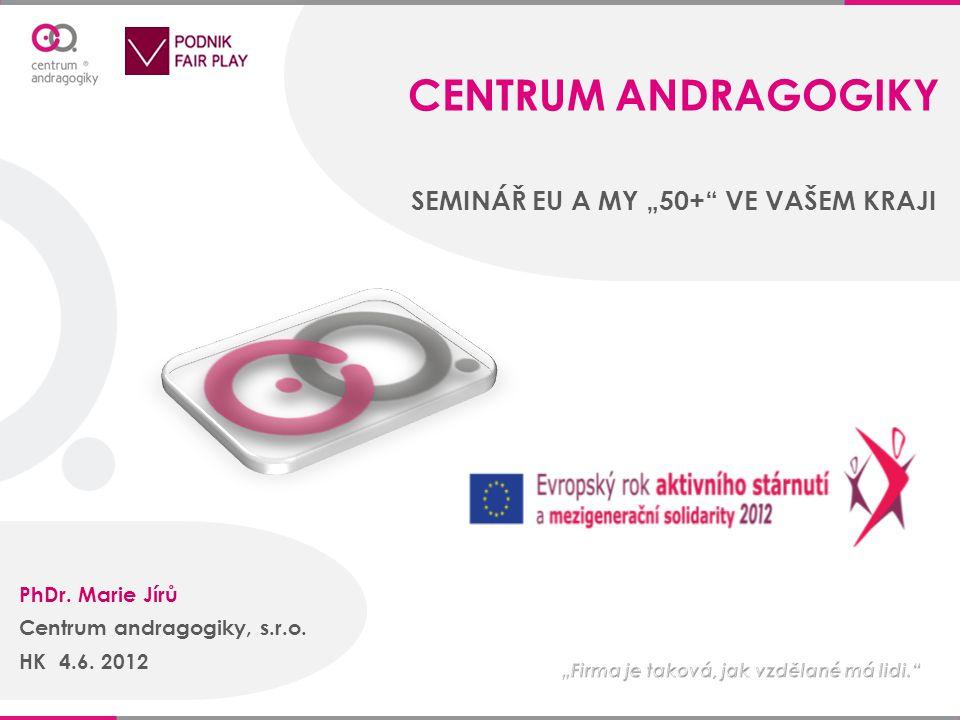 Společnost Centrum andragogiky, s.r.o.