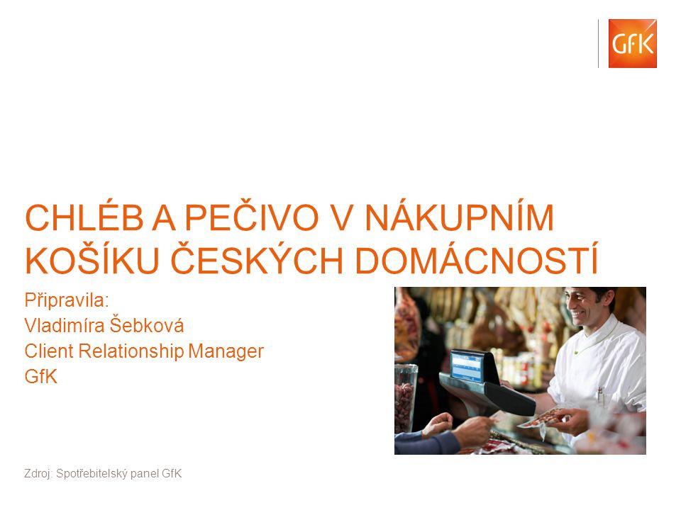 © GfK 2014 | 1-6 2014 | Consumer Panel Services 2 České domácnosti vynakládají na čerstvé potraviny 50% svých prostředků za rychloobrátkové zboží.