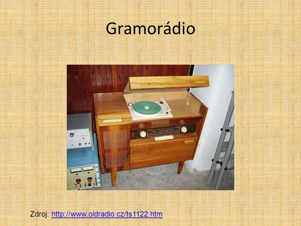 Gramorádio Zdroj: http://www.oldradio.cz/ts1122.htmhttp://www.oldradio.cz/ts1122.htm
