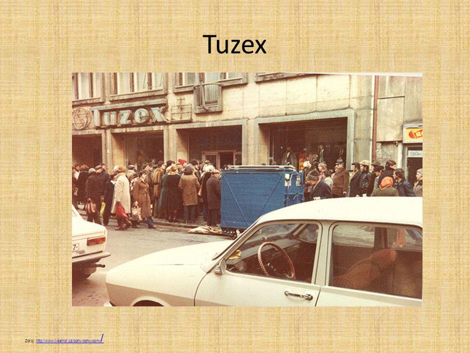 Tuzex Zdroj: http://www.i-senior.cz/bony-bony-bony /http://www.i-senior.cz/bony-bony-bony /