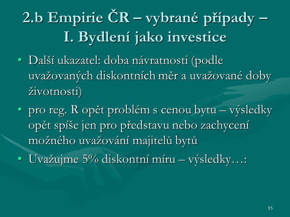 15 2.b Empirie ČR – vybrané případy – I.
