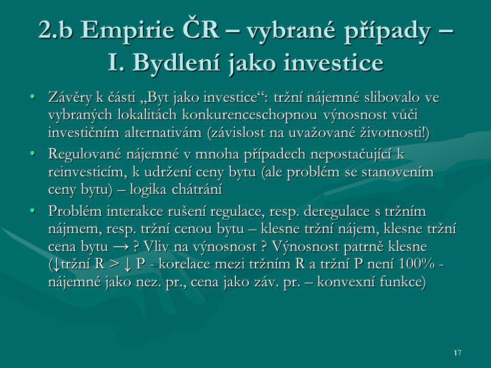 17 2.b Empirie ČR – vybrané případy – I.