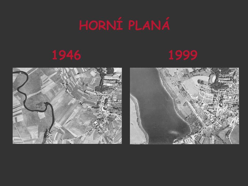 HORNÍ PLANÁ 1946 1999