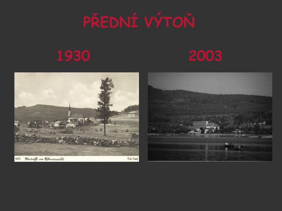 PŘEDNÍ VÝTOŇ 1930 2003