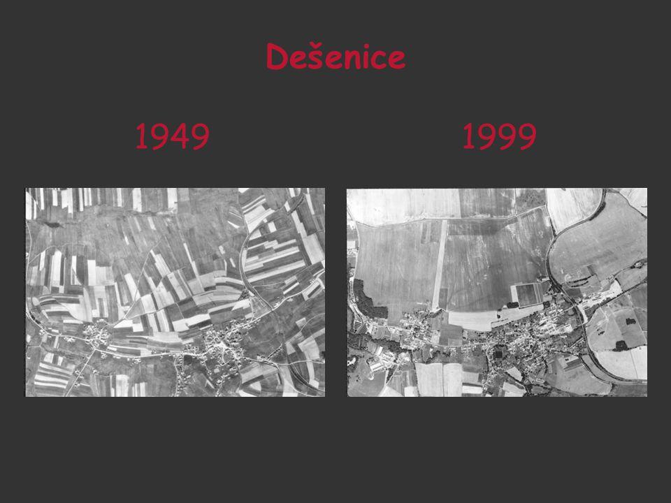 OSIDLOVACÍ PRAXE 1945 - 1952 Největší nápor národních správců zemědělství směřoval v Čechách do okresů od Žatce přes Most, Bílinu, Litoměřice až k České Lípě.