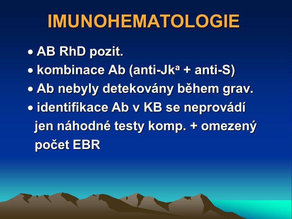 IMUNOHEMATOLOGIE  AB RhD pozit.