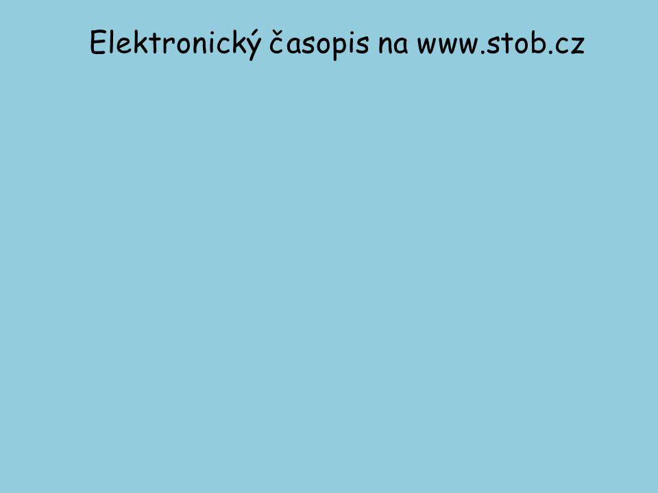 Elektronický časopis na www.stob.cz