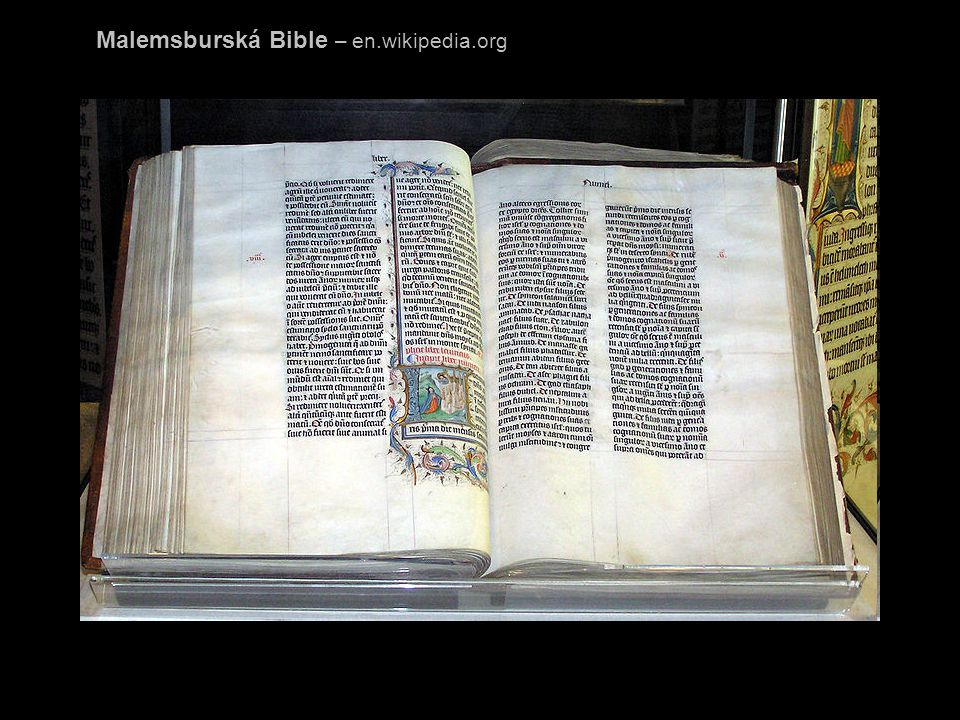k tomuto je třeba připočítat velké množství citací biblického textu v jiných materiálech, např.