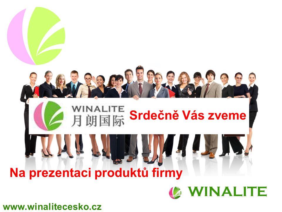 WINALITE Na prezentaci produktů firmy Srdečně Vás zveme www.winalitecesko.cz