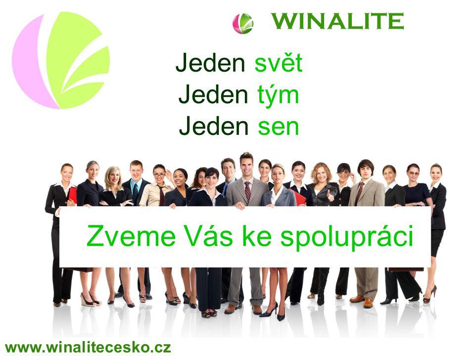 WINALITE Jeden svět Jeden tým Jeden sen Zveme Vás ke spolupráci www.winalitecesko.cz