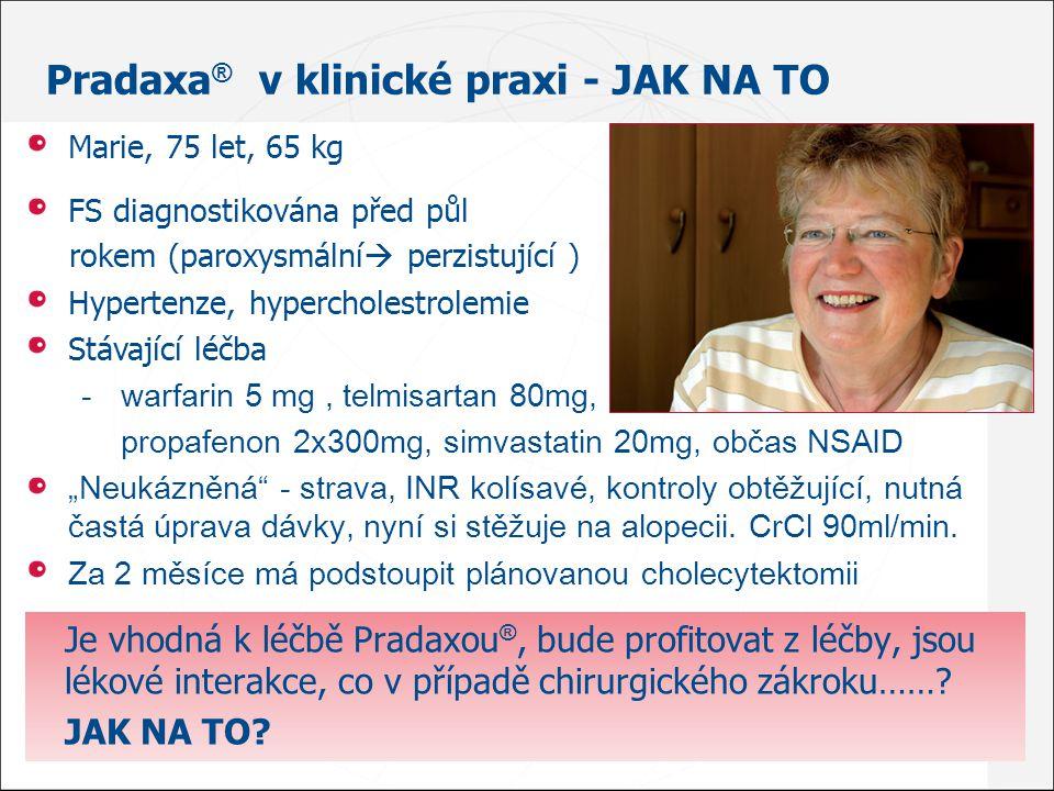 Pradaxa ® od 1.května s ÚHRADOU.