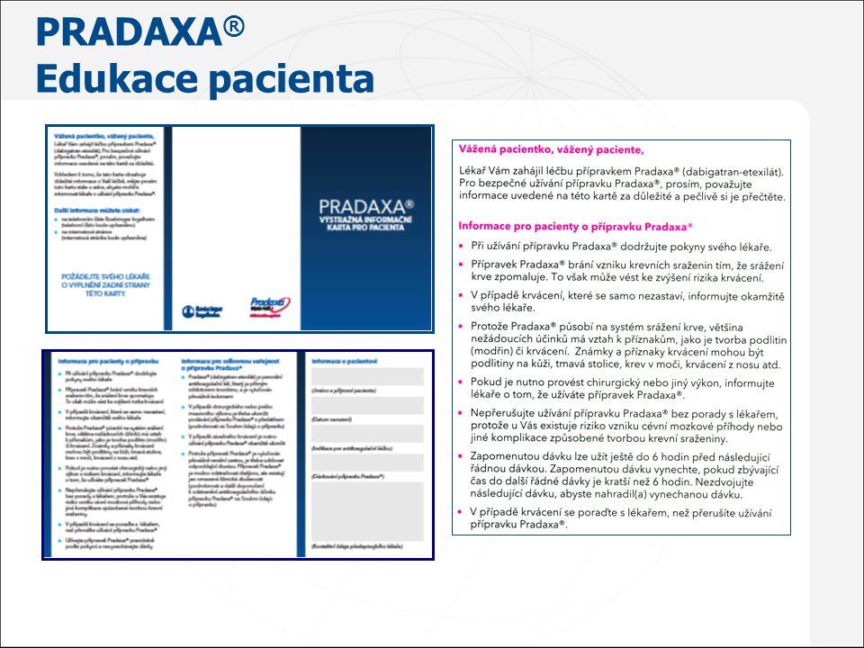 PRADAXA ® Edukace pacienta