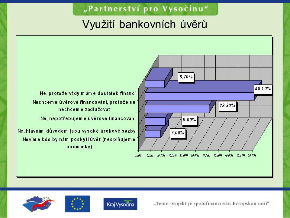 Využití bankovních úvěrů