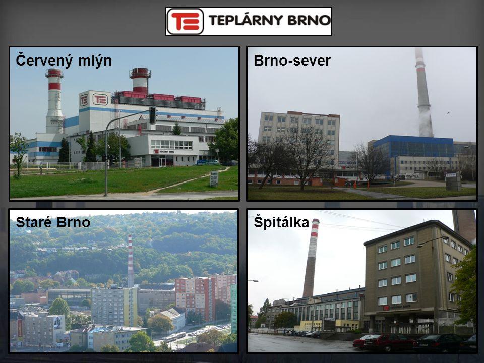 Špitálka Brno-severČervený mlýn Staré Brno