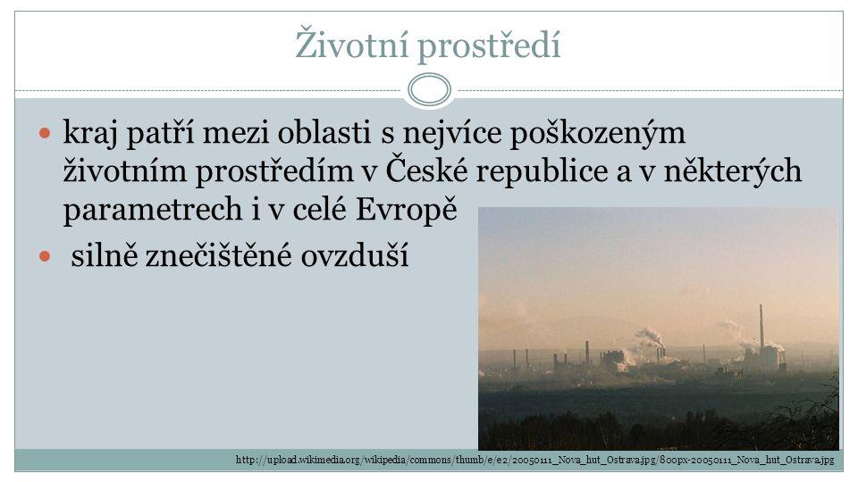 Životní prostředí kraj patří mezi oblasti s nejvíce poškozeným životním prostředím v České republice a v některých parametrech i v celé Evropě silně z
