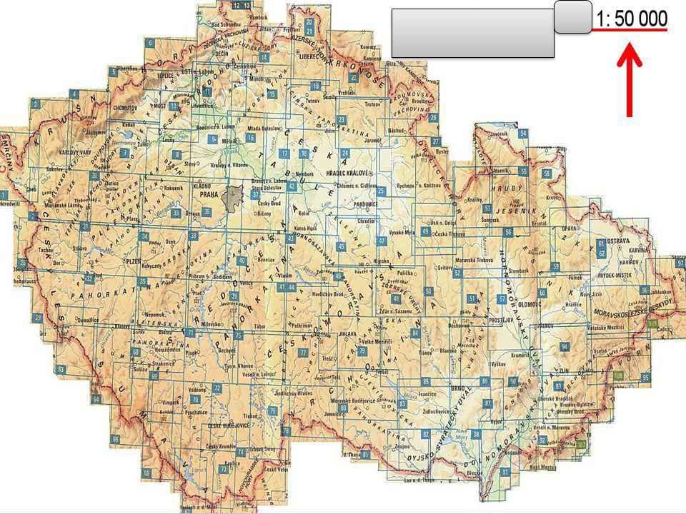 Počítání měřítka Na mapě je vzdálenost mezi Olomoucí a Unčovicemi zobrazena úsečkou o délce 5 cm.