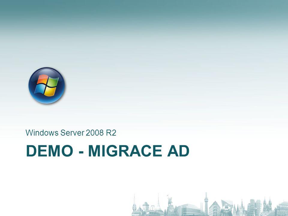 DEMO - MIGRACE DNS Windows Server 2008 R2