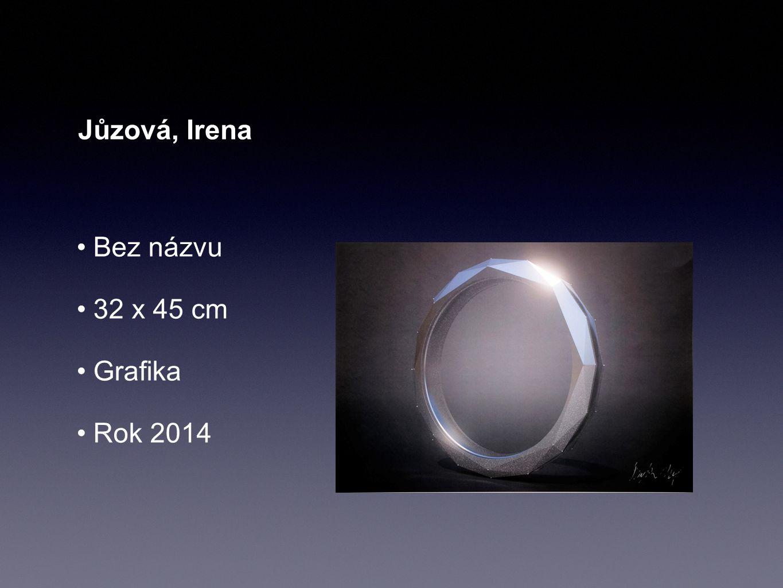 Jůzová, Irena Bez názvu 32 x 45 cm Grafika Rok 2014