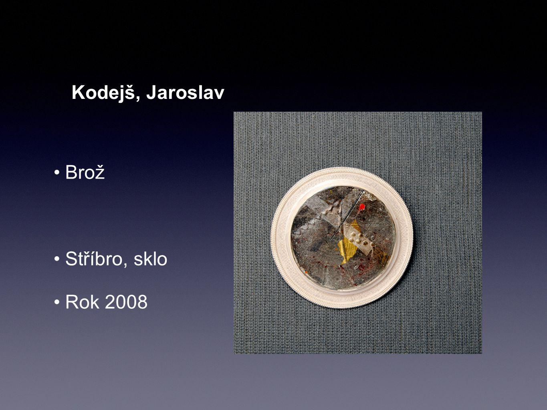 Kodejš, Jaroslav Brož Stříbro, sklo Rok 2008