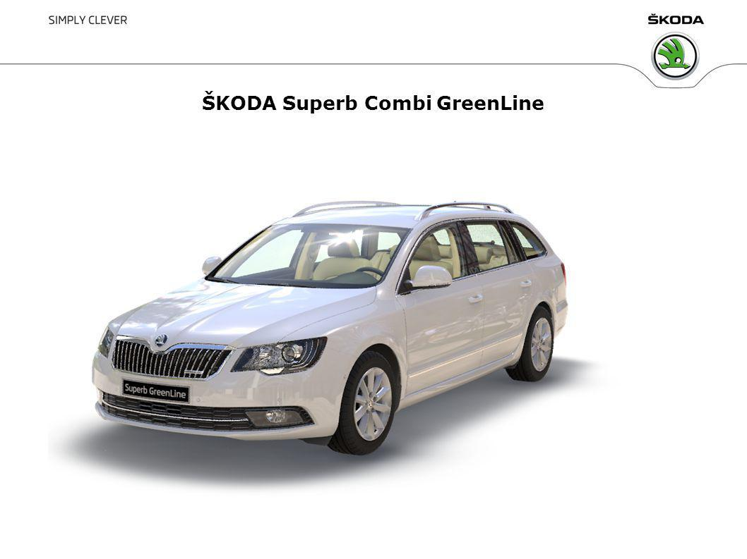 ŠKODA Superb Combi GreenLine